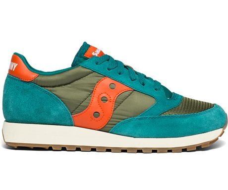 Saucony Jazz Original Vintage Teal/Olive/Orange