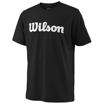 Produkt Wilson Y Team Script Tech Tee Black/White