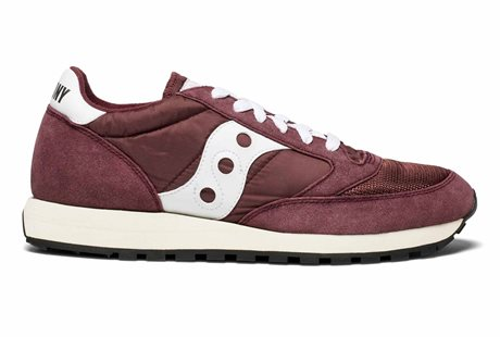 Saucony Jazz Original Vintage Burgundy/White