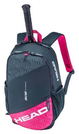 HEAD Elite Backpack Anthracite/Pink 2021