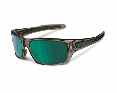 OAKLEY Turbine Grey Smoke w/ Jade Iridium Polar