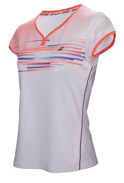 Produkt Babolat Cap Sleeve Top Girl Performance White