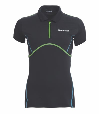 Babolat Polo Women Match Performance Anthracite 2015