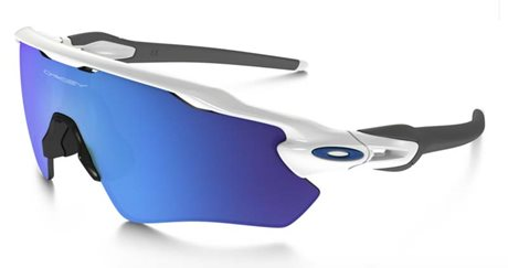 OAKLEY RADAR EV PATH POLISHED WHITE SAPPHIRE IRIDIUM