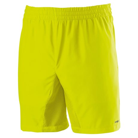 HEAD CLUB MEN - SHORT Lime