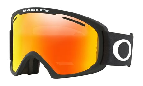 OAKLEY O Frame 2.0 XL Matte Black w/Fire Iridium + Persimmon 19/20