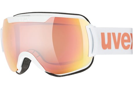 UVEX DOWNHILL 2000 CV white/mir rose colorvision orange S5501171030 19/20