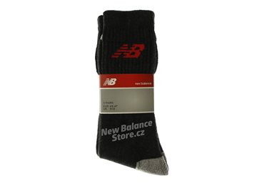 Produkt New Balance Crew Basic Socks Antra/Red