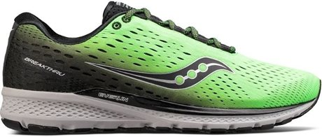 Saucony Breakthru 3 Slime/Black