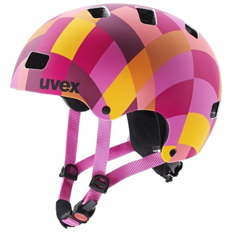 UVEX KID 3 CC, RED CHECKERED 2020