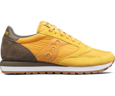 Saucony Jazz Original Gold/Brown