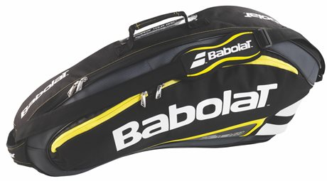 Babolat Team Line Racket Holder Yellow X3