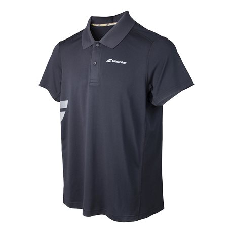 Babolat Polo Men Core Poly Piqué Black