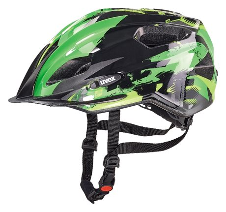 UVEX QUATRO JUNIOR, BLACK-GREEN 2016