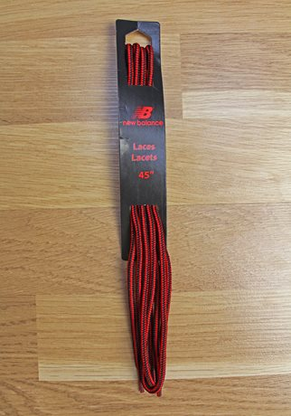 New Balance Hiker Laces Black/Red