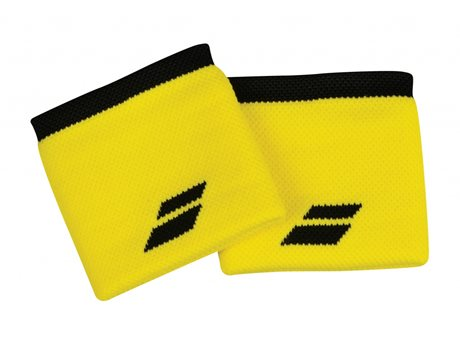 Babolat Wristband X2 2018 Yellow-Black