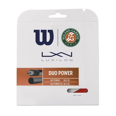 Wilson Duo Power Roland Garros Bronze/Natur 1,30/1,28
