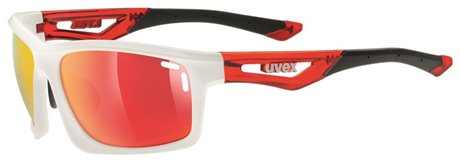 UVEX SGL 700, WHITE RED
