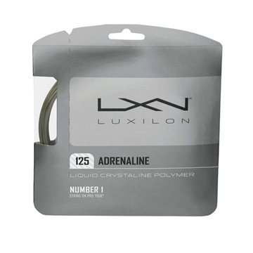 Produkt Luxilon Adrenaline 1,25mm Set Silver 12,2m