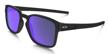 OAKLEY Latch SQ Matte Black w/Violet Irid Pol
