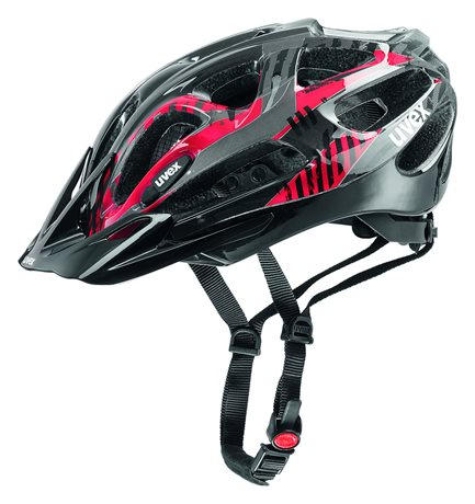 UVEX SUPERSONIC, BLACK-RED