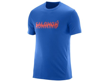 Salomon Park Tech SS Tee Blue Yonder 382094